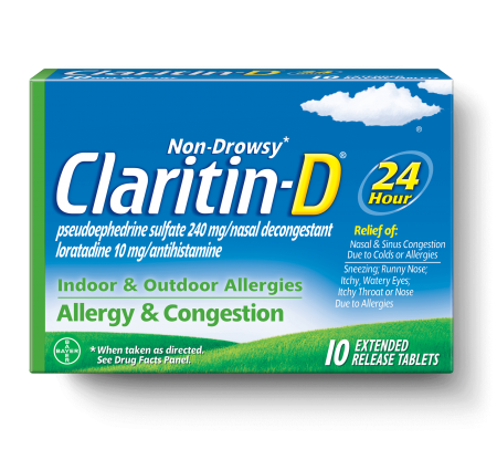 photo relating to Claritin Printable Coupons identify Preserve $4.00 off (1) Claritin D Non-Drowsy Printable Coupon