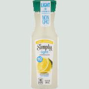 0.75 off any (1) Simply Light Orange or Lemonade Printable Coupon