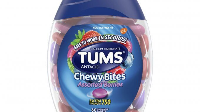 photograph regarding Tums Printable Coupon referred to as $1.50 off any (1) Tums Chewy Bites Printable Coupon