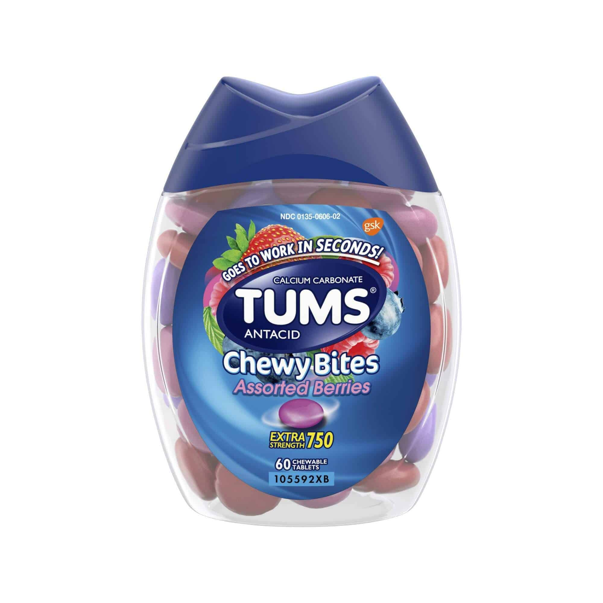 photo regarding Tums Printable Coupon known as $1.50 off any (1) Tums Chewy Bites Printable Coupon