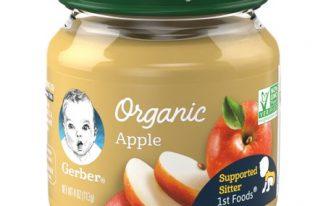 Save $1.00 off (4) Gerber Organic Jar's Printable Coupon