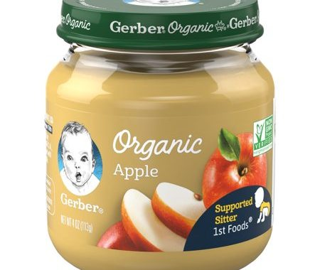 $1 off any (4) Gerber Organic Jar's Printable Coupon
