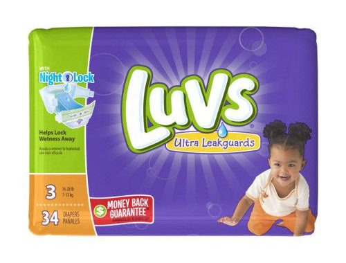 $2 off of Luvs Diapers – Walmart Deal| P&G BrandSAVER