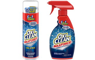 Save $0.50 off (1) OxiClean PreTreat Spray or Gel Printable Coupon