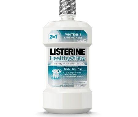 Save $1.00 off (1) Listerine Healthy White Printable Coupon