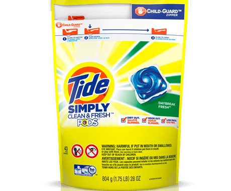 Save $1.00 off (1) Tide Simply Pods Printable Coupon