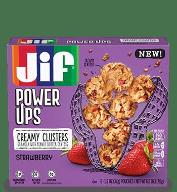Save $0.75 off (1) Jif Power Ups Printable Coupon