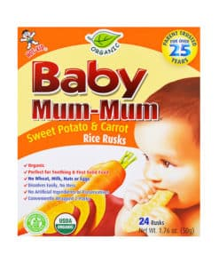 Save 0.75 off (1) Baby Mum Mum Printable Coupon