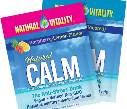 Get a FREE Sample of Natural Vitality Calm Magnesium Supplement
