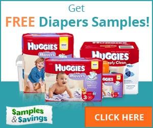 Get FREE Diaper Samples!