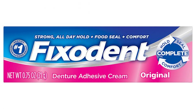 Save $1.00 off any (1) Fixodent Printable Coupon