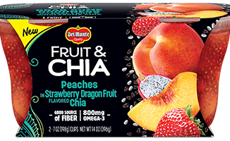 Save 0.75 off (1) Del Monte Fruit & Chia Printable Coupon