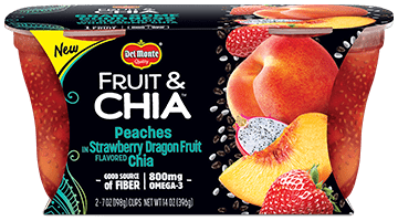Save $0.75 off (1) Del Monte Fruit & Chia Printable Coupon
