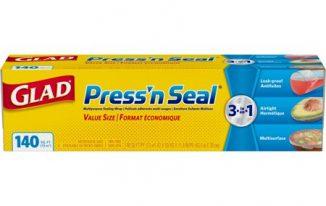 Save $0.75 off (1) Glad Press n Seal Printable Coupon