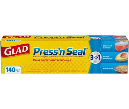 Save $0.75 off (1) Glad Press n Seal Printable Coupon