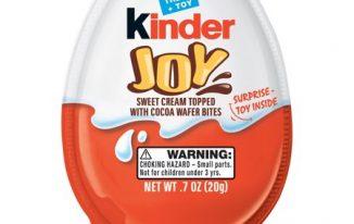Save $1 off any (2) Kinder Joy Single Eggs Coupon