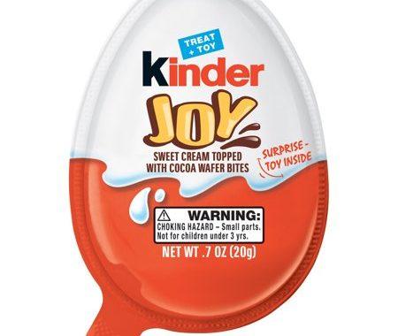 Save $1.00 off (3) Kinder Joy Single Eggs Coupon