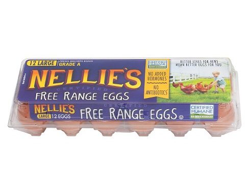 Save $1.00 off (1) Nellie's Free Range Eggs Printable Coupon