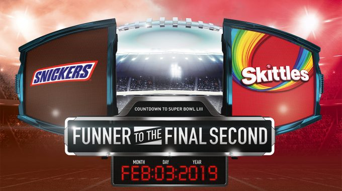Snickers+Skittles+M&M's 2020 SUPER BOWL Trip Sweepstakes Entry