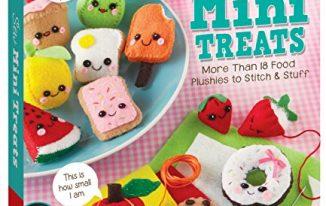 SAVE 33% on Klutz Sew Mini Treats: 18 Food Plushies to Stitch & Stuff