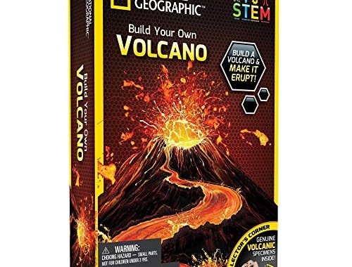 SAVE 27% on NATIONAL GEOGRAPHIC Volcano Science Kit