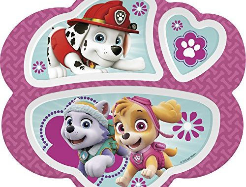 SAVE 20% on Nickelodeon Paw Patrol Kids Divided Plates