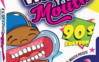 SAVE 20% on Watch Ya Mouth 90's Edition Party Card Game