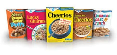 Save $1.00 off (2) General Mills Big G Cereals Coupon