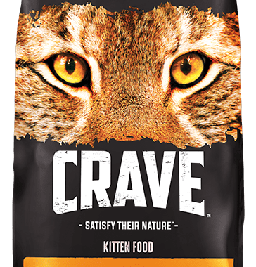 Save $5 off any (1) Crave Cat Food Printable Coupon