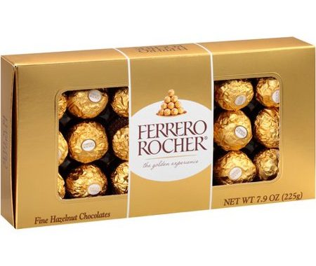 Save $1.00 off (1) Ferrero Rocher or Collection Printable Coupon