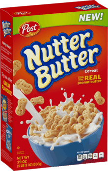 Save 0.50 off any (1) Nutter Butter Cereal with Coupon