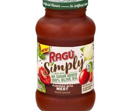 Save $0.75 off (1) Ragu Simply Pasta Sauce Coupon