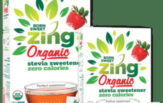 Get FREE Born Sweet Zing Organic Stevia Sweetener Samples
