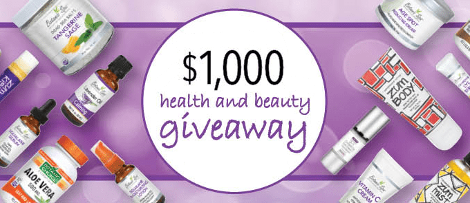 Enter the $1,000 Botanic Choice Health & Beauty Giveaway Sweepstakes