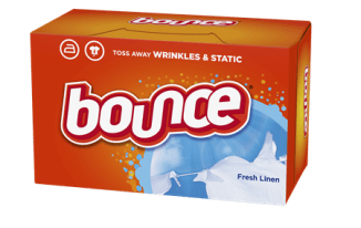 Get FREE Bounce Fabric Softener Sheet Samples | FREE Mail Samples