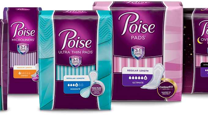 Get FREE Poise Starter Pack Samples | FREE Mail Samples