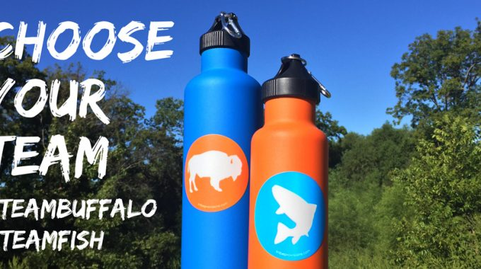 Get FREE Tribe Provision Stickers | Are you Team Buffalo or Team Fish?