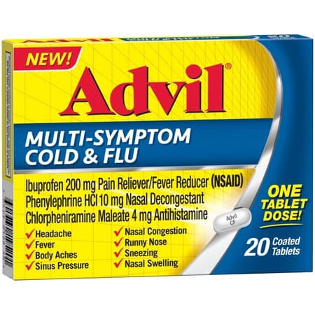 picture relating to Advil Printable Coupon named Help you save $2.00 off (1) Advil Multi-Symptom Chilly Flu Coupon