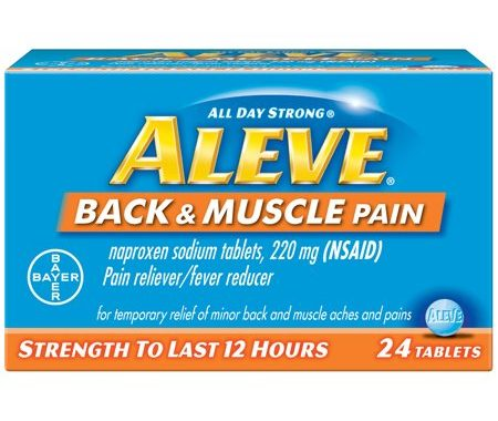 Save $3.00 off (1) Aleve Back and Muscle Pain Coupon