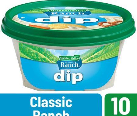 Save $0.75 off (1) Hidden Valley Ranch Dip Printable Coupon