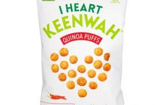 Save $1.00 off (1) I Heart Keenwah Quinoah Puffs Coupon