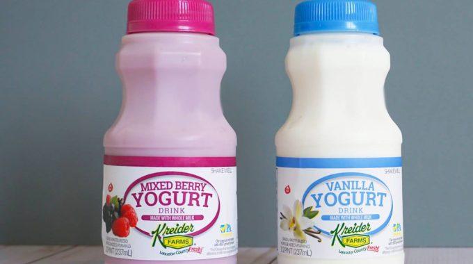 Save $0.25 off (1) Kreider Farms Yogurt Printable Coupon