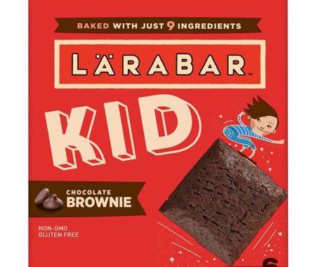 Save $1.00 off (1) Larabar Kid Brownie Printable Coupon