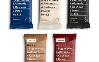 Save $1.00 off (2) RxBar Protein Bars Printable Coupon