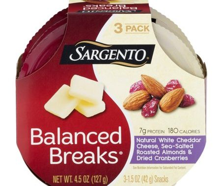 Save $0.75 off (1) Sargento Balanced Breaks Printable Coupon