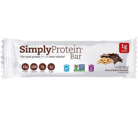 Save $0.75 off (1) Simply Protein Bar Printable Coupon