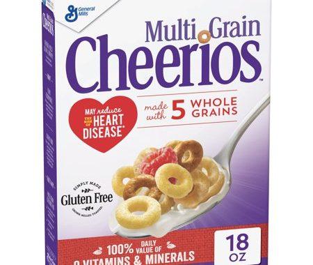 Save $0.50 off (1) Cheerios Multi-Grain Printable Coupon