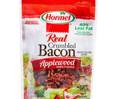 Save $1.00 off (2) Hormel Bacon Toppings Printable Coupon
