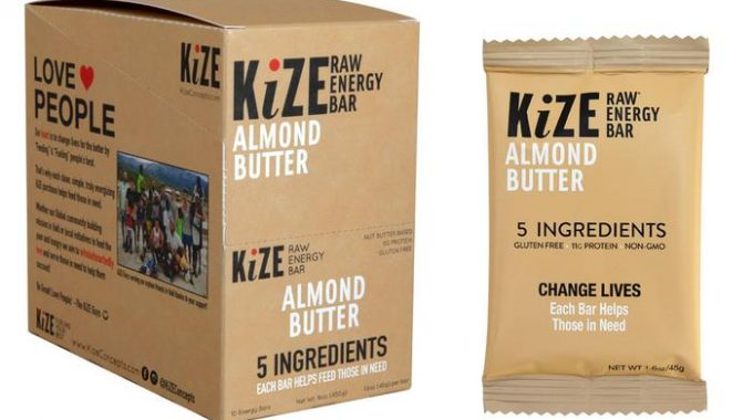 Save $1.00 off (2) Kize Energy Bar Printable Coupon