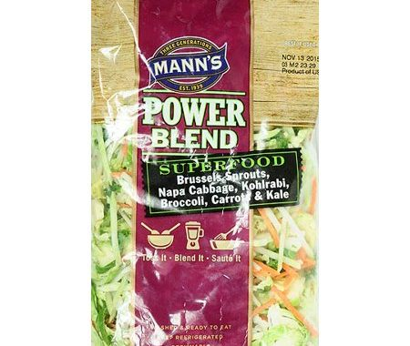Save $0.50 off (1) Mann's Veggie Slaw Printable Coupon